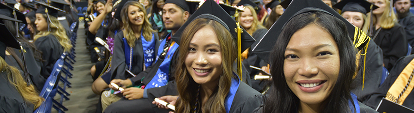 San Joaquin Delta College Graduation Ceremony